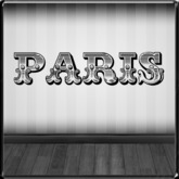 *~LT~*  Paris Wall Art Decal