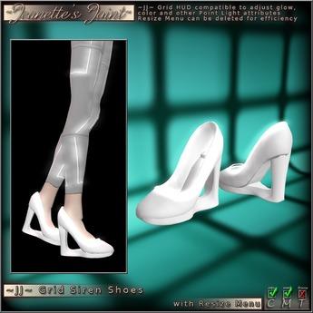 ~JJ~ Grid Siren Shoes