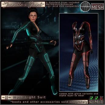 ~JJ~ Mesh Grid Suit