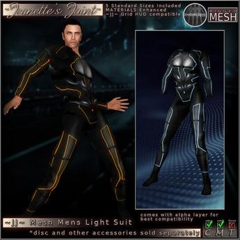 ~JJ~ Mesh Grid Suit ~ male