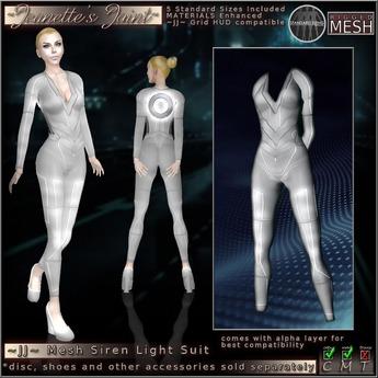 ~JJ~ Mesh Grid Siren Suit