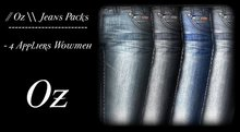 // Oz \\ JEANS PACK FOR WOWMEH ONLY