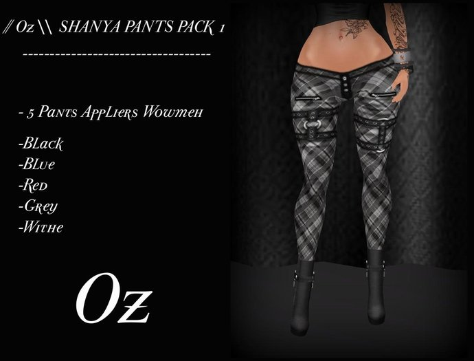 // Oz \\ SHANYA PANTS PACK 1 FOR WOWMEH