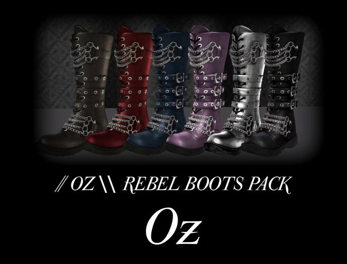 // Oz \\ REBEL BOOTS PACK