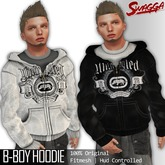 [SWaGGa] Fitted Mesh BBoy Hoodie  with HUD FITMESH