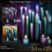 =Mirage= Candle Cluster - Moody Mix