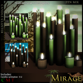 =Mirage= Candle Cluster - Magick Mix