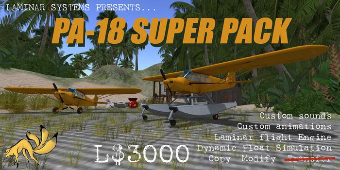 PA-18 Super Cub Super Pack