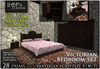 [L&T] - Victorian Bedroom Set (Mesh) (Full Perm, 3d designed, Partially Scripted w/ AO maps)