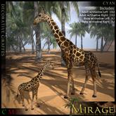 =Mirage= Decorative Giraffes