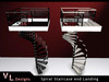 VL Designs Spiral Staircase & Landing - Builders Kit