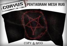 Corvus : Skull Mesh Rug