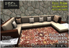 [L&T] - Elegant Modern Sofa (Full Perm, Realistic 3d w/ AO Maps) Builders Edition