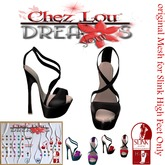 *Chez Lou * Shoes Betany  *original Mesh for Slink  Feet Only