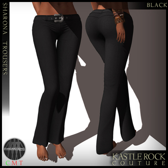 :KR: Sharona Trousers - Black