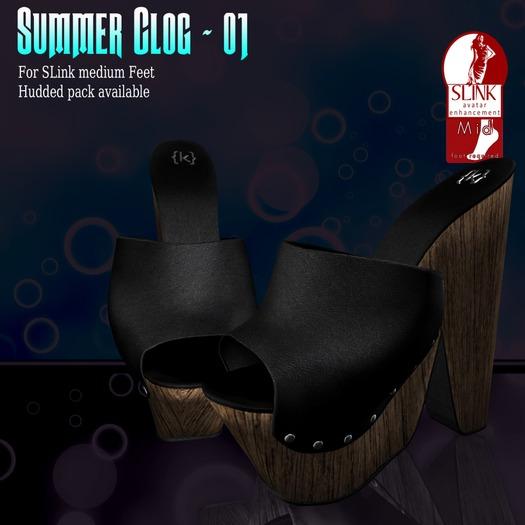 {K} Summer Clog - 1