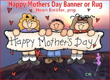 Happy Mothers Day Banner or Rug