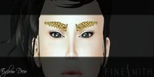 FINESMITH - gem Eyebrows jewelry gold