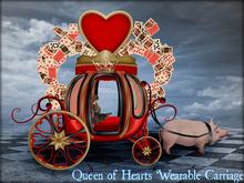 Boudoir-Queen of Hearts Wearable Carriage