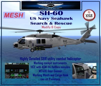 SH-60 US Navy Seahawk