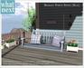{what next) Blue Bramley Porch Swing