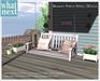 {what next) White Bramley Porch Swing