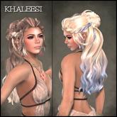 Khaleesi Hair *MULTICOLOURED* - OakLeaf Hair - rigged mesh