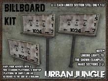 BILLBOARD KIT - MESH - URBAN JUNGLE