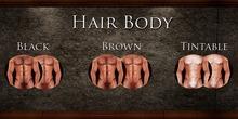 .::SAAL::. BODY HAIR BLACK