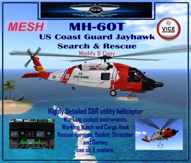 MH-60T US Coast Guard Jayhawk