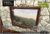 [L&T] - Victorian Picture Frame (Full Perm, Scripted) Realistic 3D w/ AO maps | Builders Edition