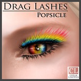 cStar Limited - Drag Lashes - Popsicle - Rainbow