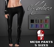 .S&C. Malice pants for Slink High Feet