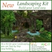 Landscaping Kit 7 (Cave Cavern Grotto Waterfall)