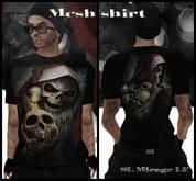 EVIL SANTA - Men Mesh T-Shirt