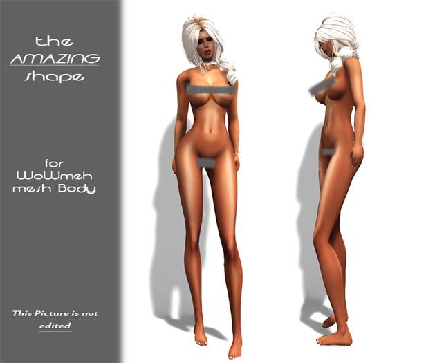 TweetySHAPE -  2 AMAZING bodymesh SHAPEs ( TheShops! Wowmeh)