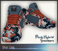 *Zanzo* Urban Camo Sneakers