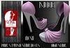 ]S]N]0]B] Pink Stylish Slink Heels