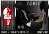 ]S]N]0]B] Black Stylish Slink (HIGH) Heels