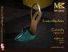 MIAMAI_Curiosity high pumps - luxe -cyan (SLink high)