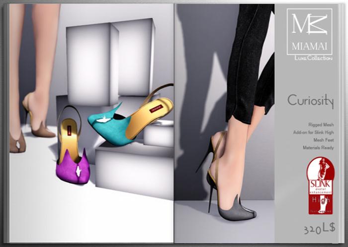 MIAMAI_Curiosity high pumps - luxe -FATPACK (SLink high)