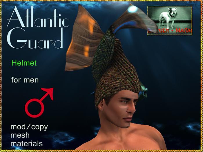 DEMO Bliensen + MaiTai - Atlantic Guard - Helmet - for men