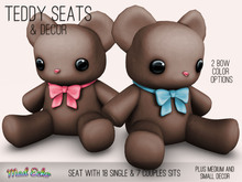 Mad Echo - Teddy Seat & Decor - Brown