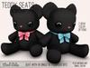 Mad Echo - Teddy Seat & Decor - Black