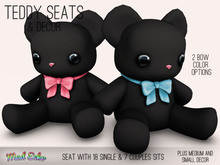 Mad Echo - Teddy Seat & Decor - Black