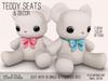 Mad Echo - Teddy Seat & Decor - White