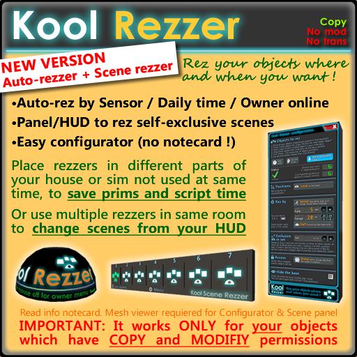 Kool Auto-rezzer & Scene rezzer