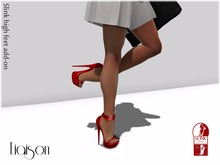 Victoria High Heel (Red)