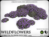 WILD FLOWERS - Aubretia Flower Patches - V1
