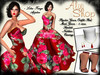 *Aly's Shop* Psychee Gown Outfit Red